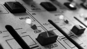 radio mixing desk